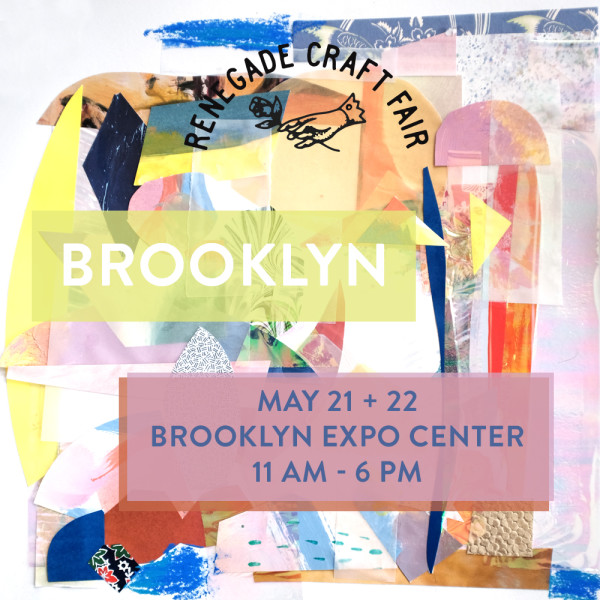 Find Lvnea and other incredible makers at the Brookly Renegade Craft Fair on May 21 and 22, 2016.