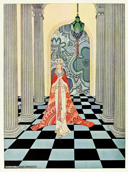 An Illustration by Virginia Frances Sterret From Tanglewood Tales by Nathaniel Hawthorne.