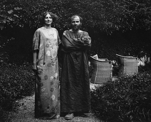 Gustav Klimt became a frequent guest in the Flöge household and eventually the life companion of Emilie Flöge.