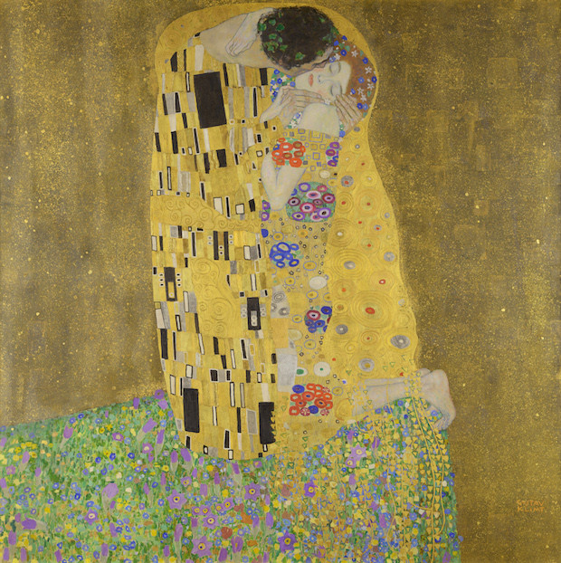 Emilie Flöge is thought to be the woman in Gustav Klimt's famous painting, The Kiss.