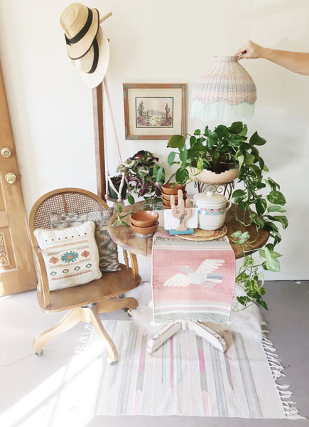 Shop Taprut specializes in vintage home decor for the modern Bohemian.