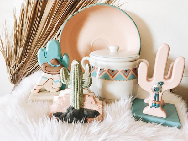 Vintage home decor from the Modern Southwest by Shop Taprut on Etsy.