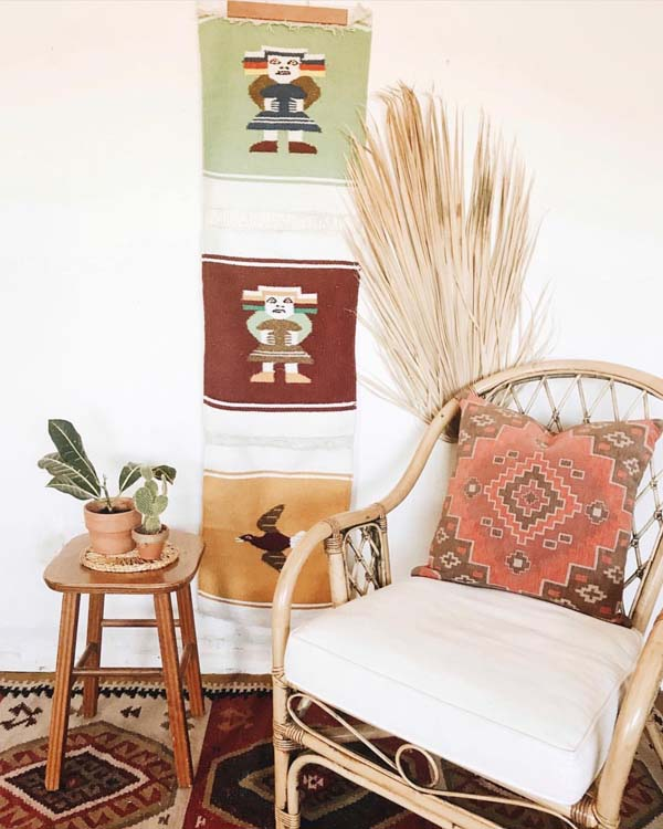 Creating a unique home with vintage home goods.
