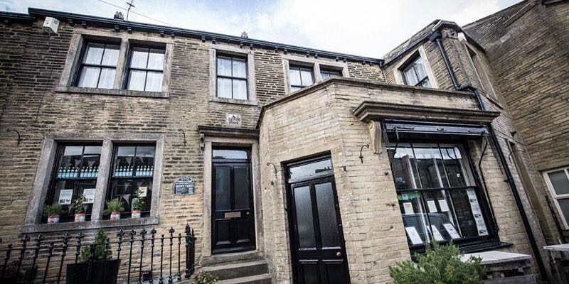 The birthplace of the Bronte Sisters has been converted into a single family home and coffeehouse. And now the coffeehouse, called Emily's, is for sale.
