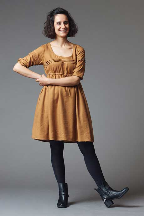 Aubepine Dress by Deer and Doe. Offered in paper format.
