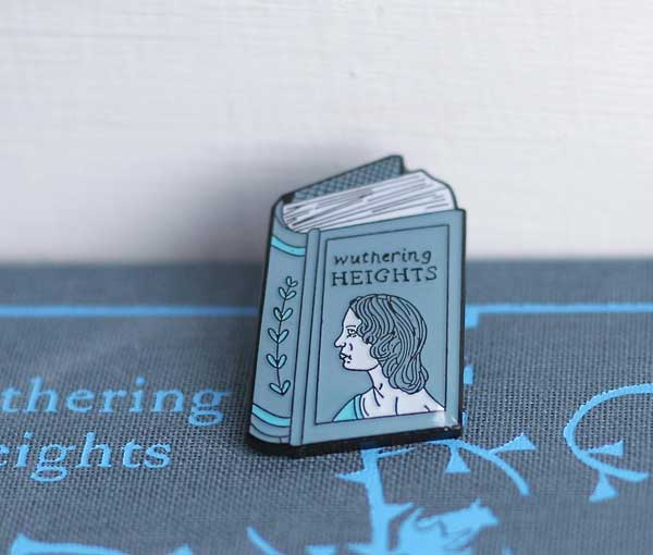 Wuthering Heights Enamel Pin by itslauracrow on Etsy.