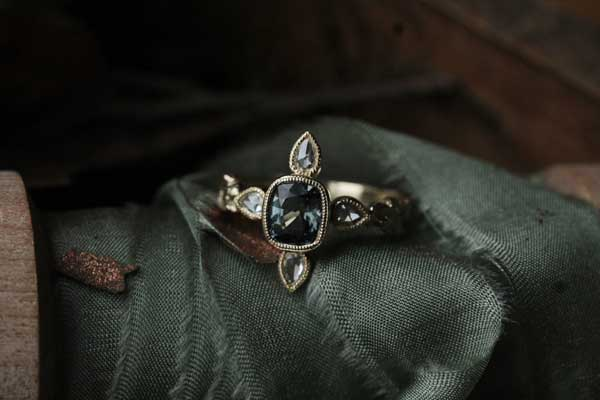 The Wayfarer Ring by Maria of The North Way Studio.