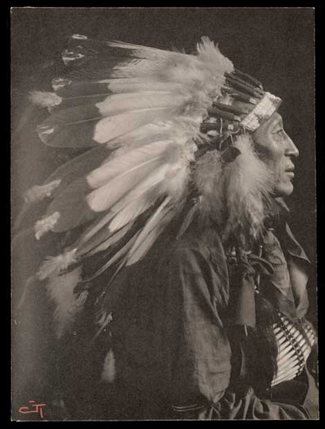 Portrait of Sioux Chief Iron Tail by Gertrude Käsebier.