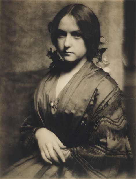 Portrait of Josephine Brown by Gertrude Käsebier.