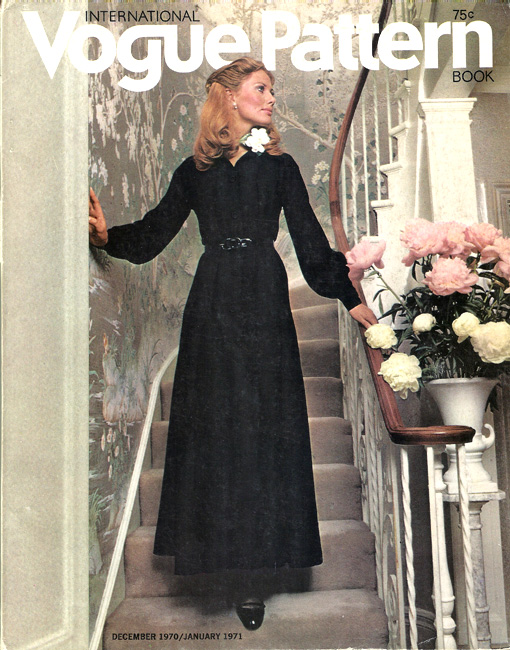 International Vogue Pattern Book December 1970 & January 1971