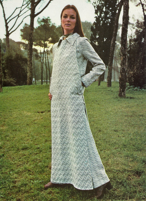 Vintage Designer Federico Forquet's Vogue Couturier Design 2445 from the International Vogue Pattern Book December 1970 & January 1971 Jumpsuit and Jumper
