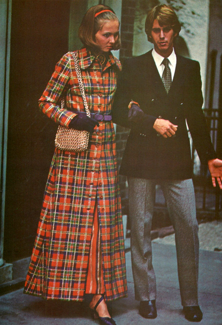 Vintage Vintage Vogue Paris Original 2444 by Guy Laroche in International Vogue Pattern Book 1970/1971Miss Vogue 7928 Evening Coat & Dress from the International Vogue Pattern Book December 1970 & January 1971