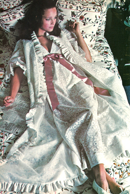 Vintage Vogue 7950 Nightgown from the International Vogue Pattern Book December 1970 & January 1971