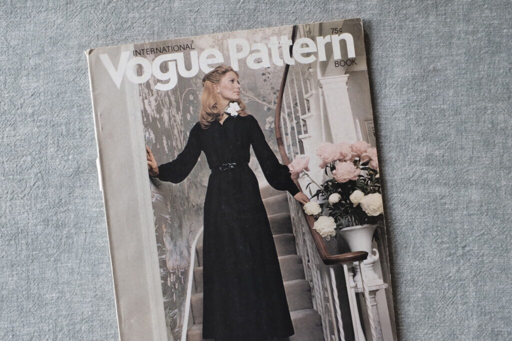 International Vogue Pattern Book Magazine 1970 1971