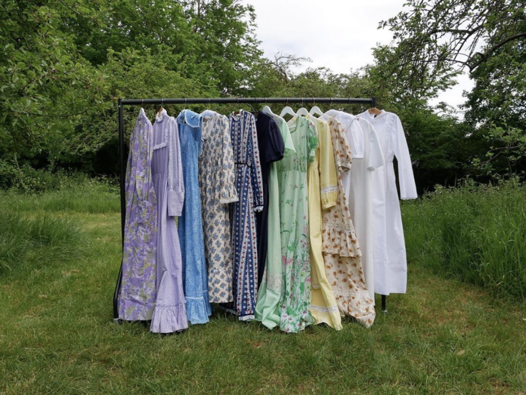 Vintage prairie dresses from The Grantchester Collection