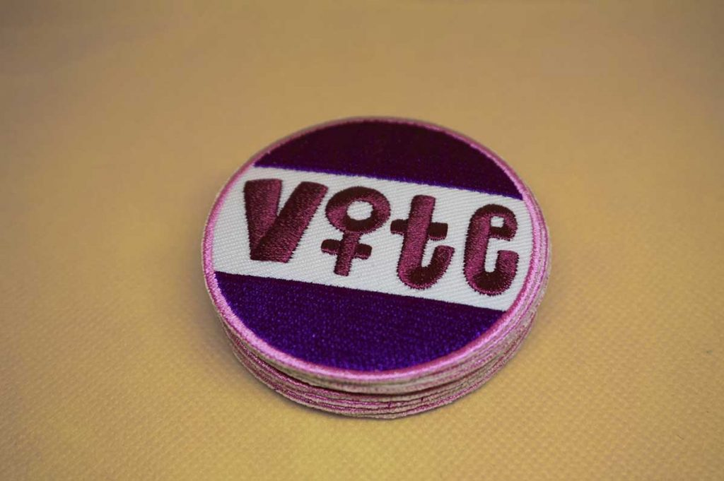 Vote Women Patch offered by turnerblack on Etsy